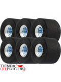 PACK 6 TAPE BLACK
