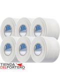 PACK 6 TAPE WHITE