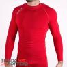 Camiseta térmica manga larga roja