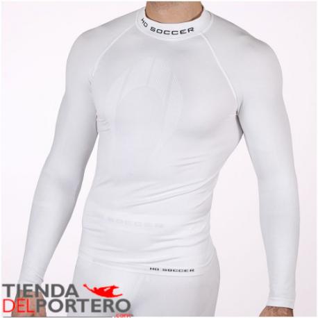 Camiseta térmica manga larga blanca Tienda Del Portero
